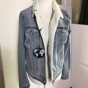 Articles of Society Jean Jacket SZ S NWT